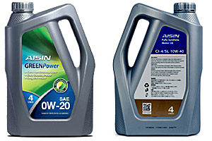 AISIN Fully Synthetic Motor Oil SN 0W20 Product Datasheet