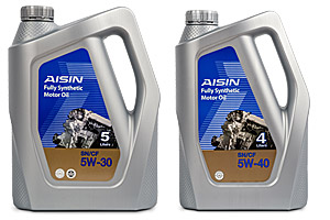AISIN Fully Synthetic Motor Oil SN 0W 30 40 50 Product Datasheet