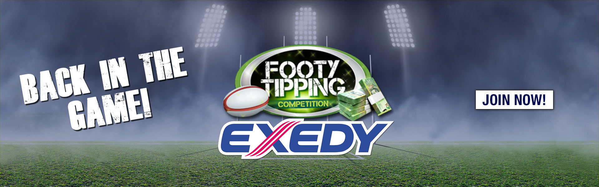 FOOTY TIPPING EXEDY